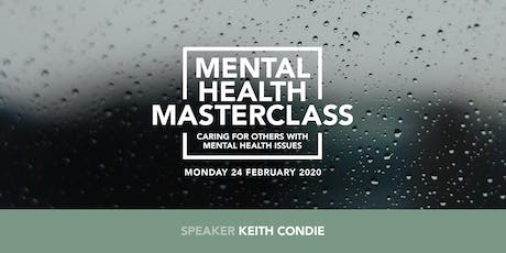 Mental Health Masterclass tickets