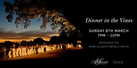 Dinner in the Vines tickets