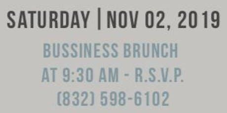 Business Brunch / Desayuno De Empresarios tickets