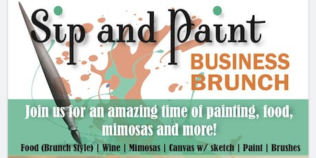 Sip and Paint ( Business Brunch) tickets