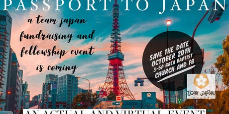 Passport to Japan a Team Japan Fundraising and Fellowship Event tickets