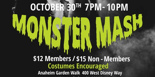 PRSSA  Monster Mash Halloween Mixer