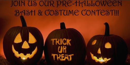 Hookah Dreams Pre-Halloween Bash!