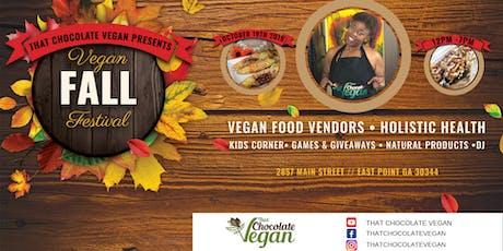 Vegan Fall Fest tickets