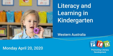 Literacy and Learning in Kindergarten April 2020 tickets