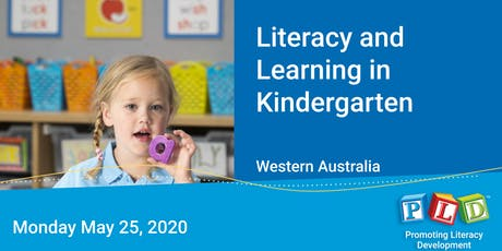 Literacy and Learning in Kindergarten May 2020 tickets
