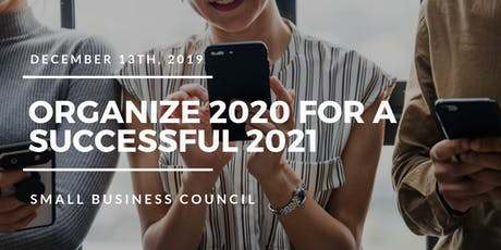 Organize 2020 for a Successful 2021 tickets