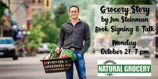 Grocery Story Book Signing and Talk with Jon Steinman