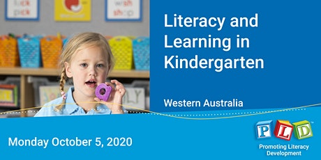 Literacy and Learning in Kindergarten October 2020 tickets