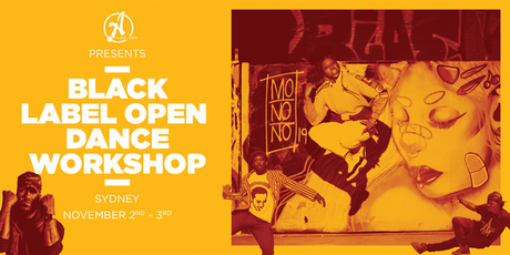 Ateam Black Label Dance Open Workshop - Sydney tickets