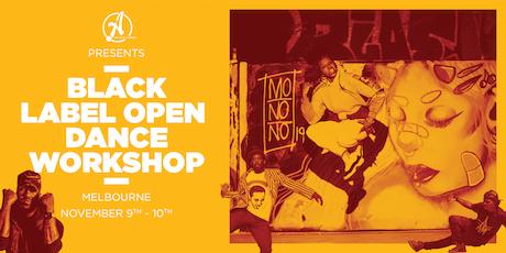 Ateam Black Label Dance Open Workshop - Melbourne tickets