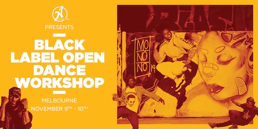 Ateam Black Label Dance Open Workshop - Melbourne