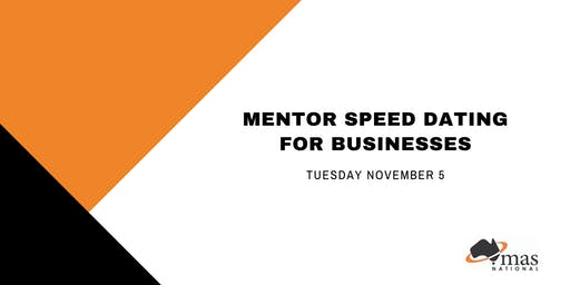 Mentor Speed Dating for Businesses - Hobart