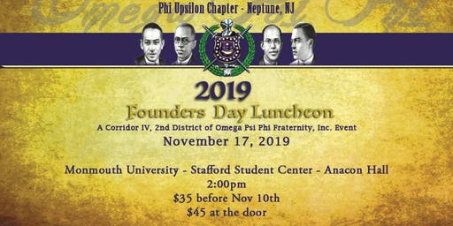 Corridor IV Founders Day Luncheon