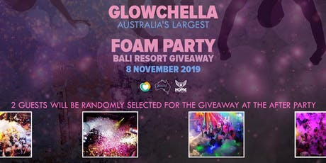 GLOWCHELLA: Australia's Largest Foam Party tickets
