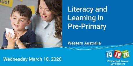 Literacy and Learning in Pre-Primary March 2020 tickets