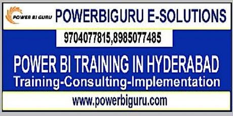 Microsoft Power BI training in Hyderabad,India tickets