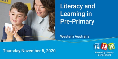 Literacy and Learning in Pre-Primary November 2020 tickets