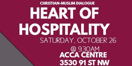 Heart of Hospitality- Christian Muslim Dialogue tickets