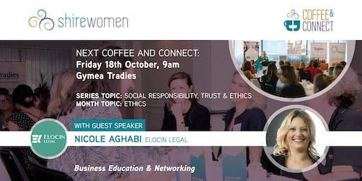 ShireWomen - Coffee & Connect 18th Oct 2019