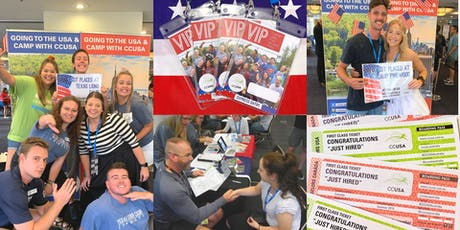 CCUSA Summer Camp Job Fair! - Adelaide  tickets