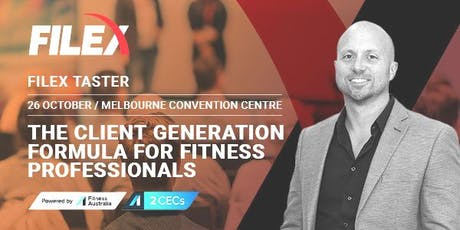 FILEX Taster: The Client Generation Formula for Fitness Professionals tickets