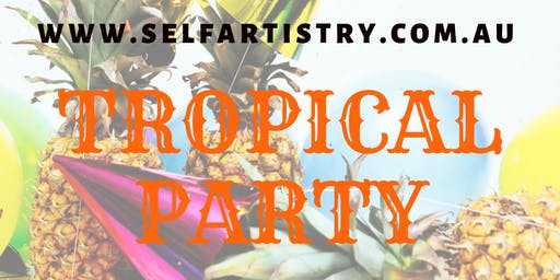 Tropical Party PAINT & SIP - AIRLIE