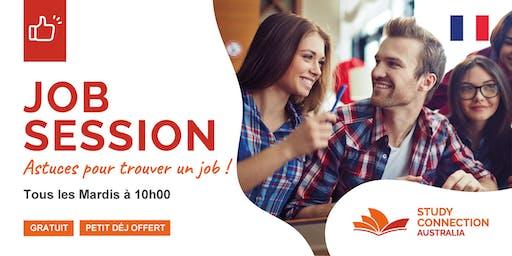 JOB SESSION / PETIT-DÉJEUNER OFFERT