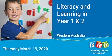 Literacy and Learning in Year 1 & 2 March 2020 tickets