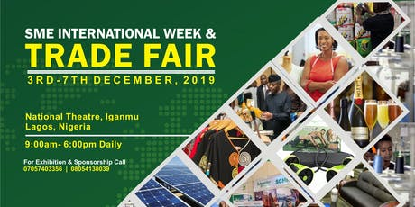SME International Week & Trade Fair, Lagos 2019 biglietti