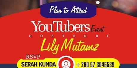 Zambian YouTubers Workshop tickets