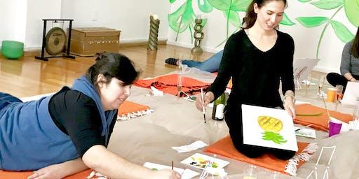 Intuitive Painting Class - Art Meditation