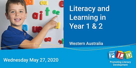 Literacy and Learning in Year 1 & 2 May 2020 tickets