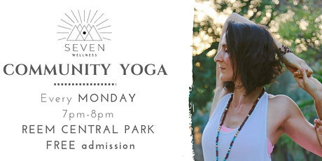 Community Yoga @ Reem Central Park tickets