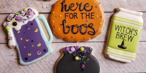 Boos & Brews - Cookie Decorating Class with Mayday Brewery