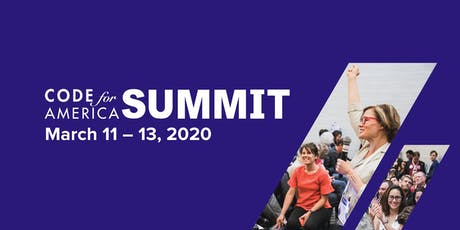Code for America Summit 2020 tickets