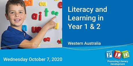 Literacy and Learning in Year 1 & 2 October 2020 tickets