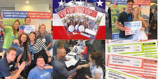 CCUSA Summer Camp Job Fair! - Sydney