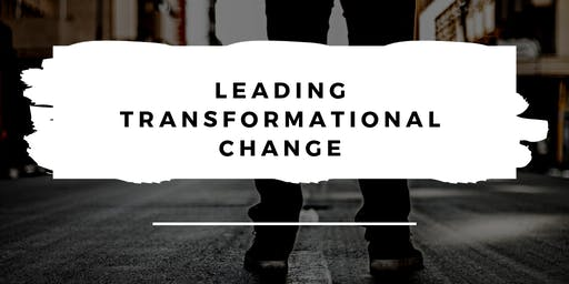 Camarillo Library Presents: Leading Transformational Change