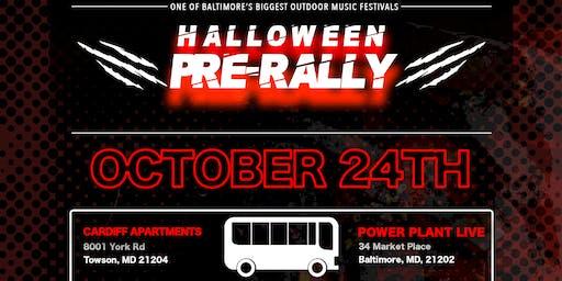 Halloween Pre-Rally - Round Trip Bus Tickets