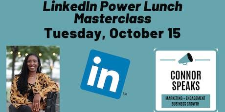 LinkedIn PowerLunch Masterclass tickets