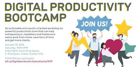 Digital Productivity Bootcamp tickets