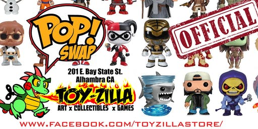 Official Funko POP SWAP at TOY-ZILLA #1