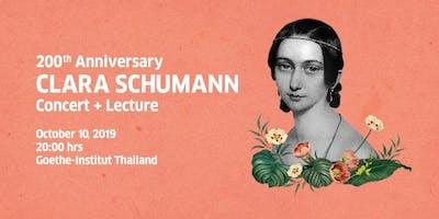200th Anniversary Clara Schumann Concert + Lecture