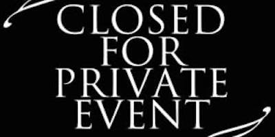 CLOSED FOR PRIVATE EVENT : CONGRATS ERICA & BILLY
