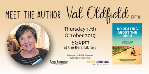 Meet the Author - Val Oldfield