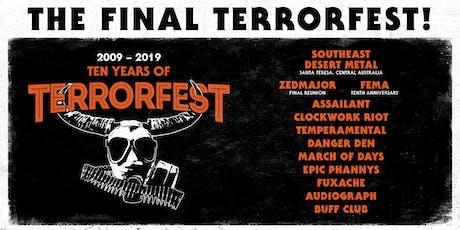The Final TerrorFest tickets