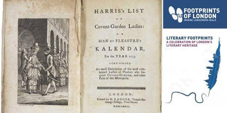 Mr Harris's List : The Book that shocked London tickets
