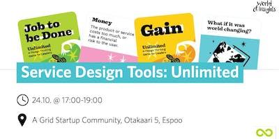 Service Design Tools: Unlimited