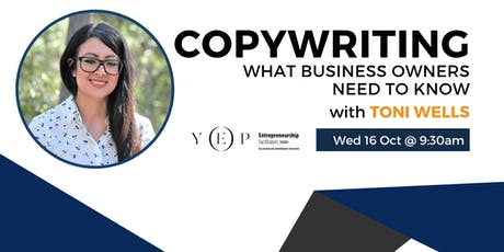 Copywriting - What Business Owners Need to Know tickets
